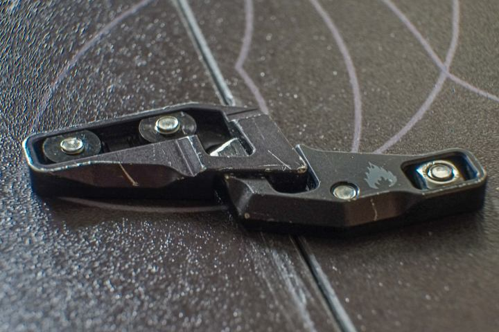 3/4 View of the Spark R&D Fixie Clip