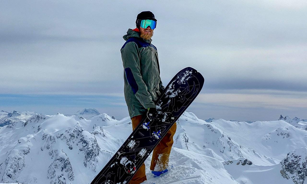The Norrona Tamok Gore-Tex Pro Jacket on teh Summit of Journeyman