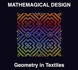 Mathemagical Design Logo - Rainbow and Black woven design