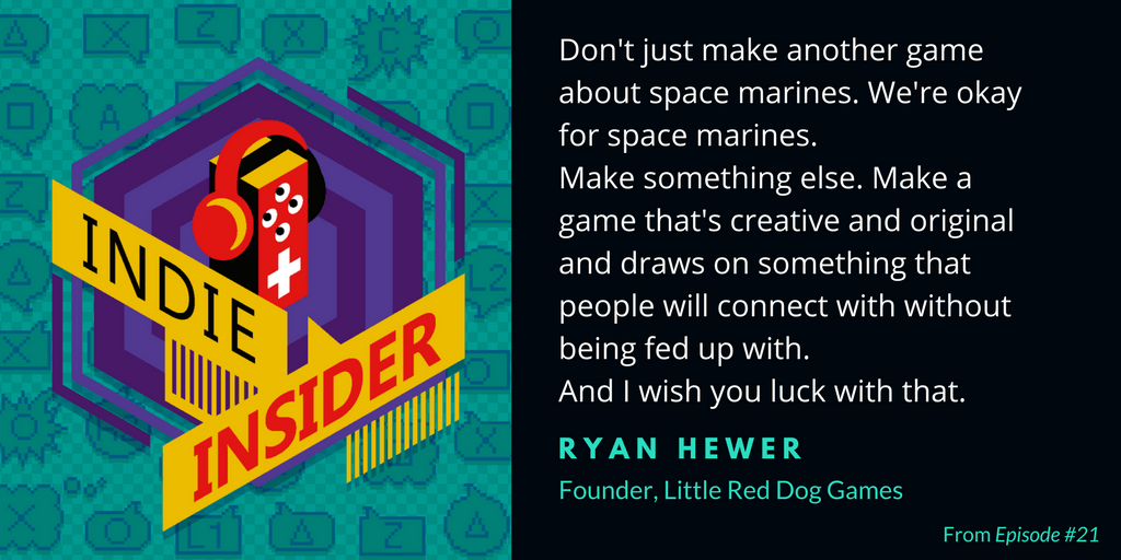 Indie Insider Podcast #21 – Ryan Hewer, Founder of Little Red Dog Games