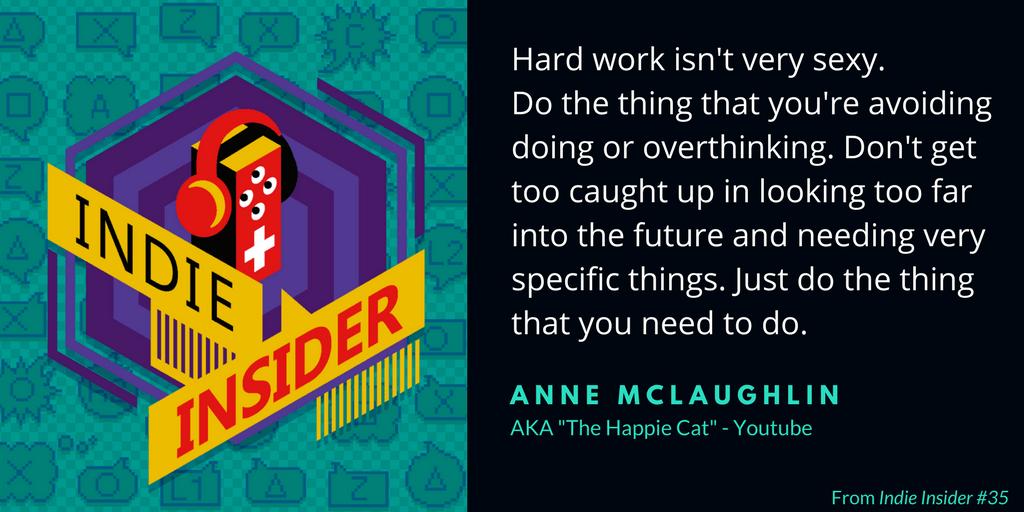 Indie Insider #35 – Anne McLaughlin, The Happie Cat