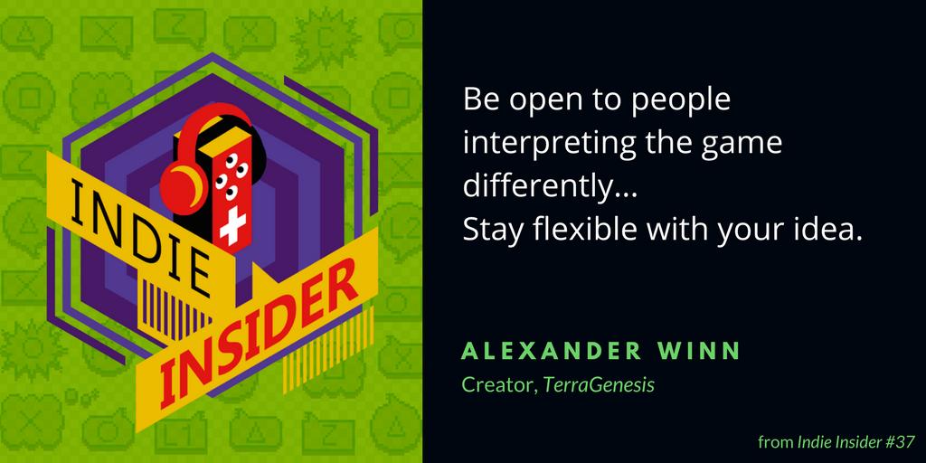 Indie Insider #37 – Alexander Winn, TerraGenesis
