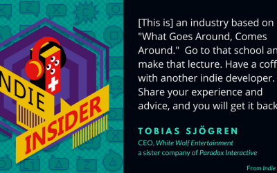 Indie Insider #52 – Tobias Sjögren of White Wolf Entertainment