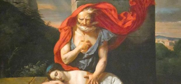 Oedipus, an early victim of the plot twist.