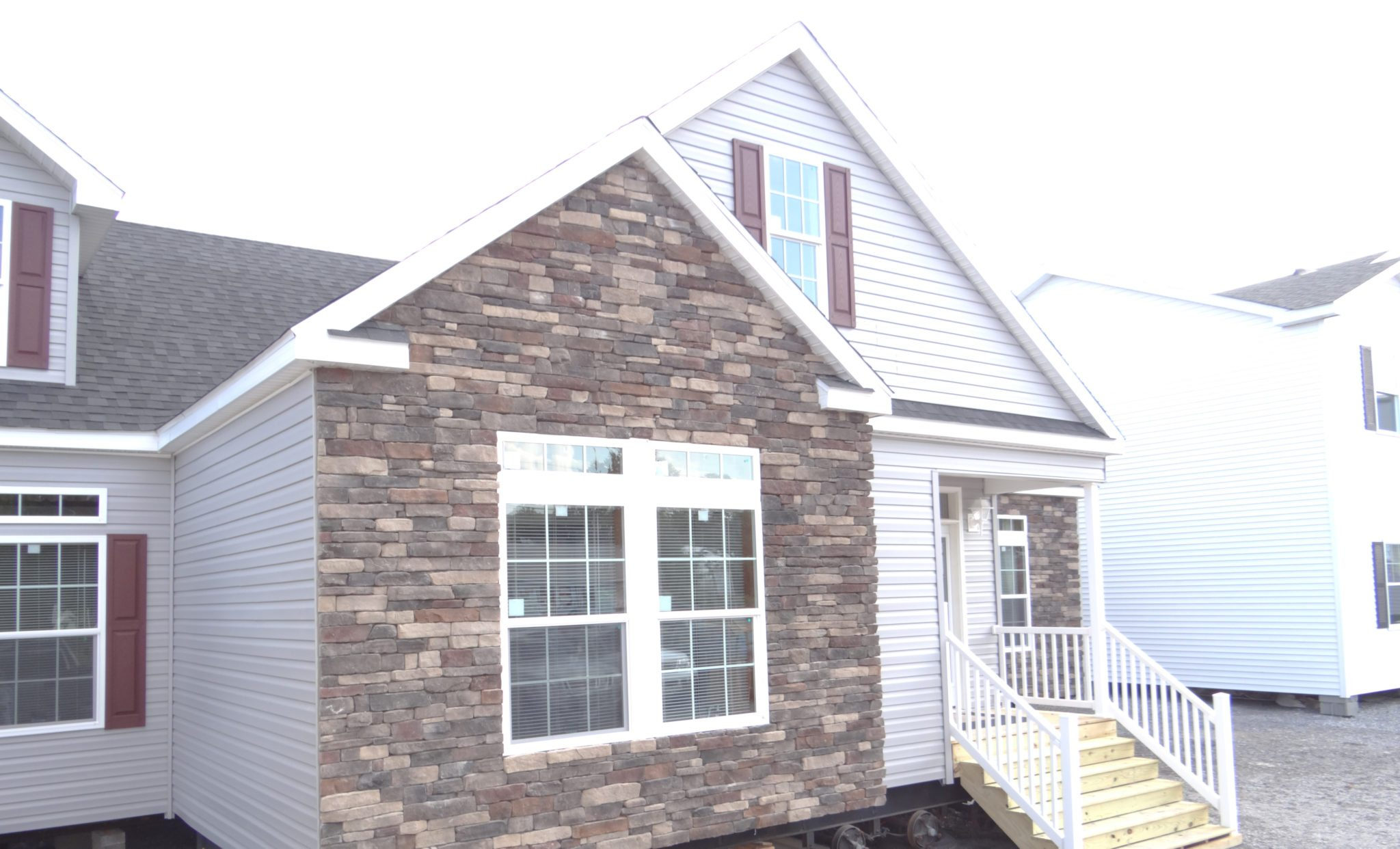 A Stone Or Brick Exterior On Manufactured Or Modular Homes