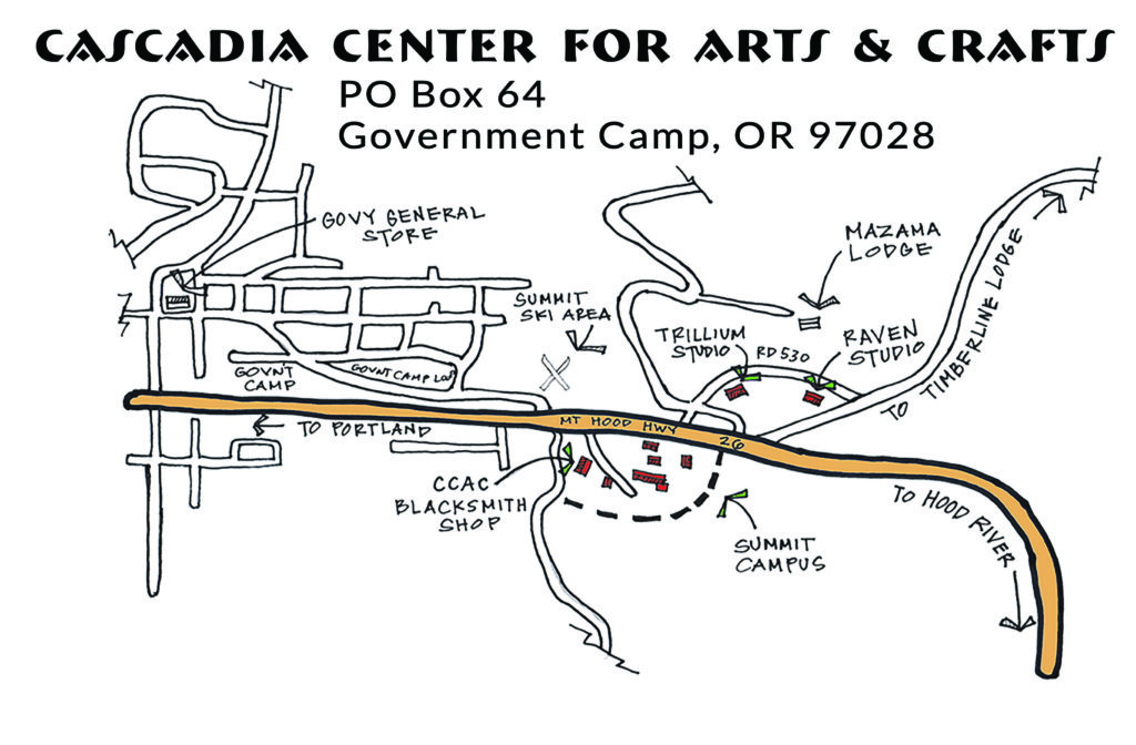 Government Camp Oregon / Cascadia Center for Arts and