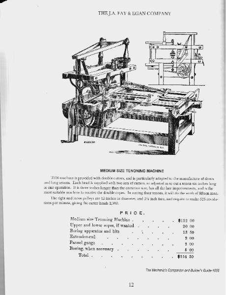 THE J.A. FAY & EGAN COMPANY 1856 catalog THE EGAN COMPANY