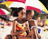 african american photo stock beach photo