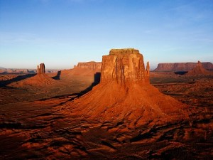 desert land and stone