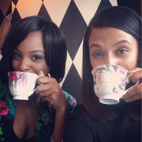 Ladies-Enjoying-Tea Ditch Birthday Brunch, Have a Tea