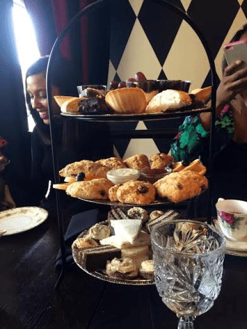 Tea-Needs-Dessert Ditch Birthday Brunch, Have a Tea