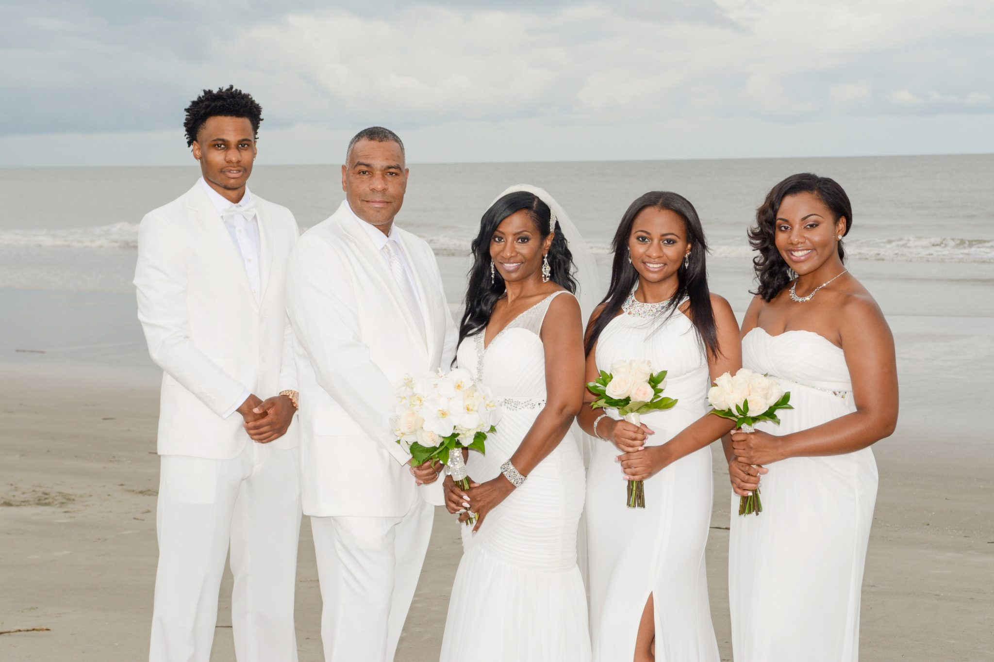Terri and Harry, Intimate Hilton Head Nuptials - Black Southern Belle