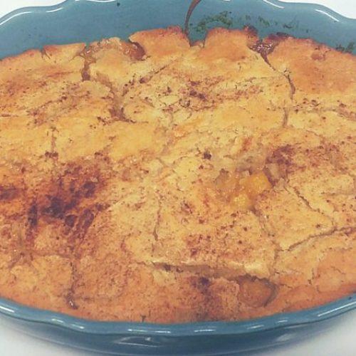 Kinya's Homemade Peach Cobbler.... #KinyasKitchen 2
