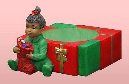 girlcandleholder Our Favorite HBCU, Divine Nine and African American Ornaments