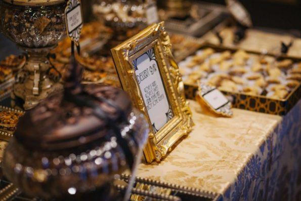 Tish-Jahmaal-475-595x397 Tishre and Jahmaal's 1920's Art Deco themed Wedding