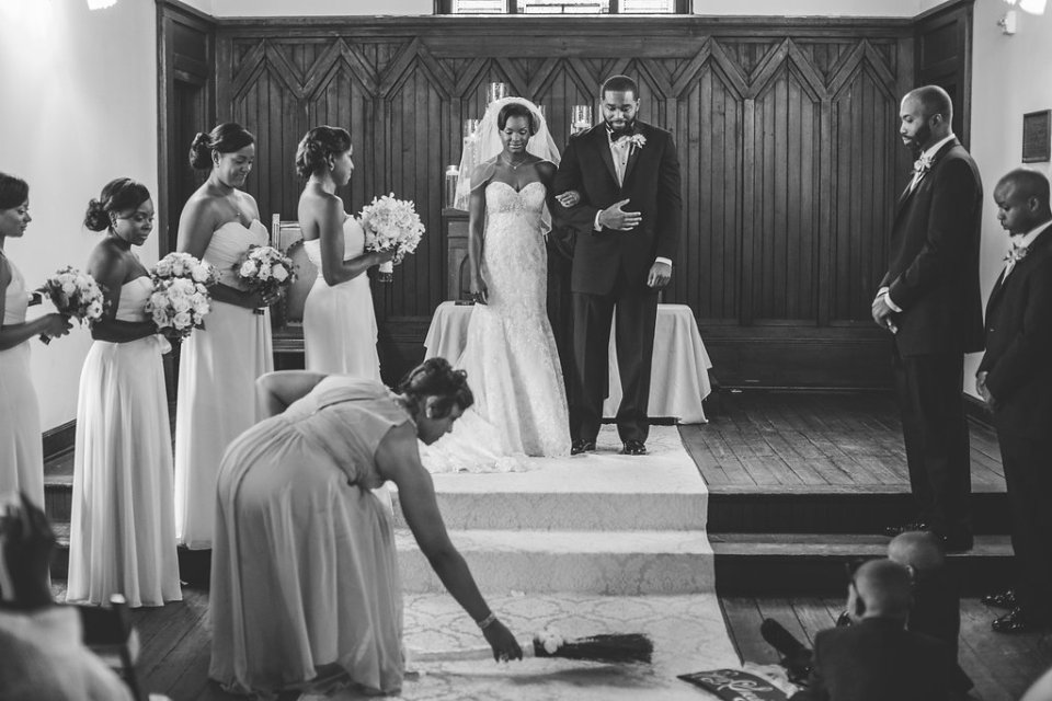 pittman-ceremony-130-960x640 Traditional Southern Wedding Charm in North Carolina