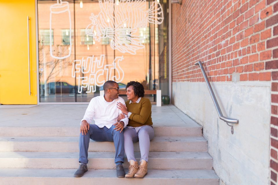 McAllister-and-Cornell-108-960x639 Downtown Raleigh Engagement Session with Vintage Style