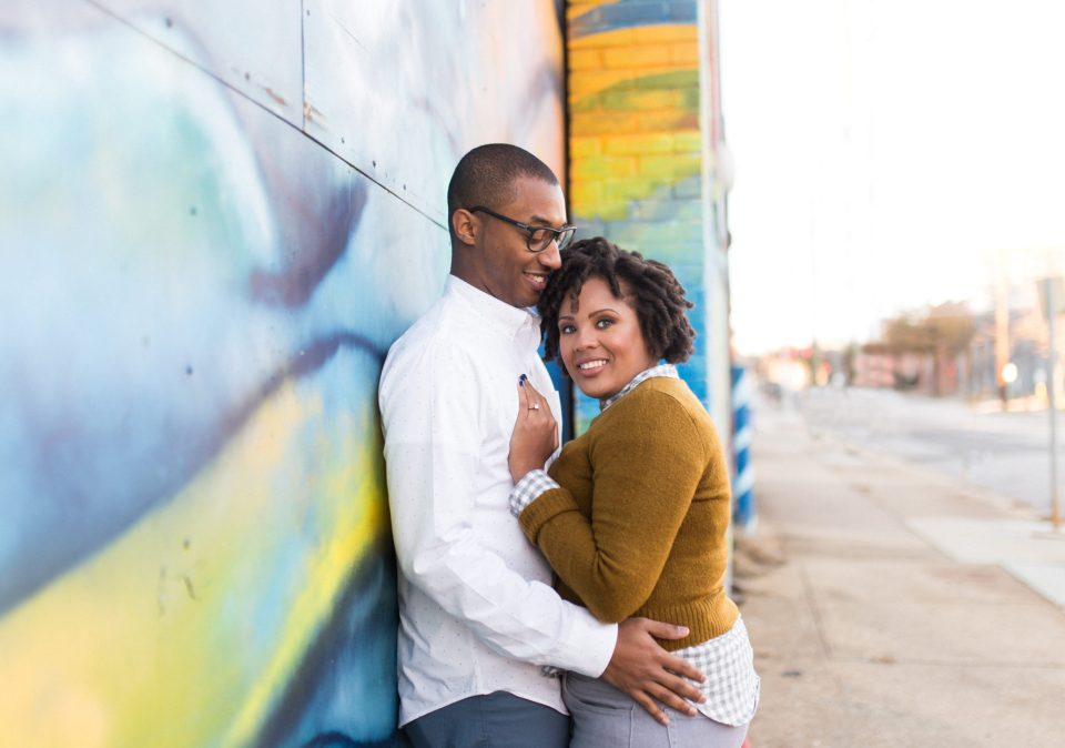 McAllister-and-Cornell-132-960x674 Downtown Raleigh Engagement Session with Vintage Style