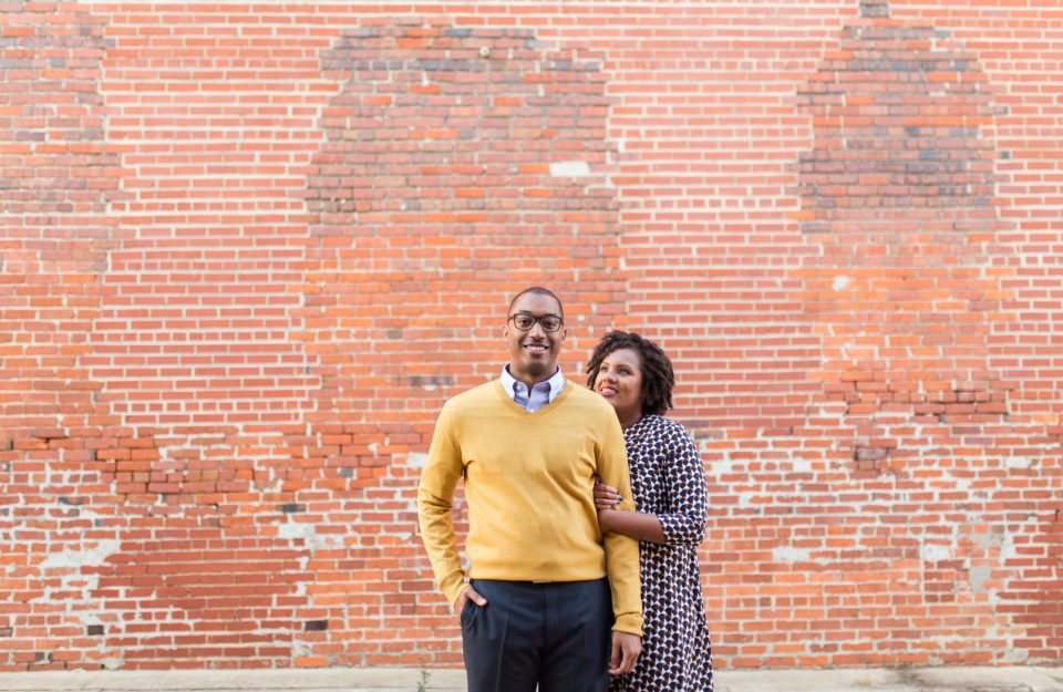 McAllister-and-Cornell-145-960x625 Downtown Raleigh Engagement Session with Vintage Style