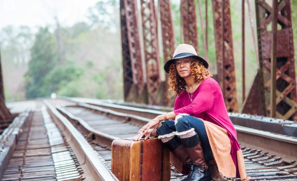 Chic Hattiesburg Mother's Railroad Shoot 2