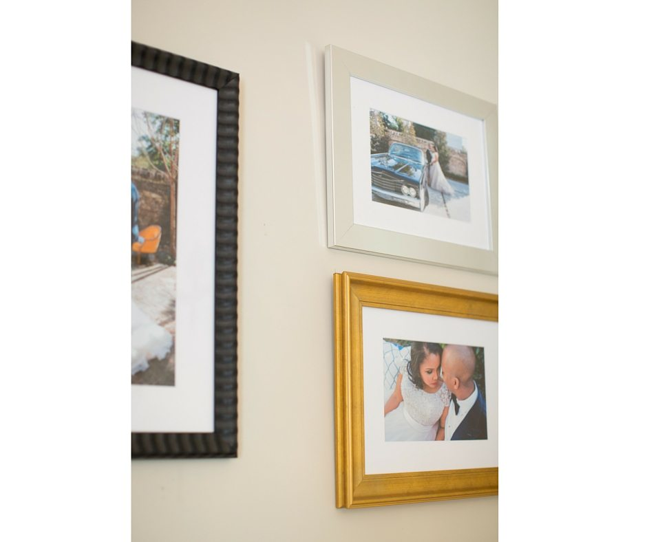 3 Gallery Wall Advice for a True Black Southern Belle Bride