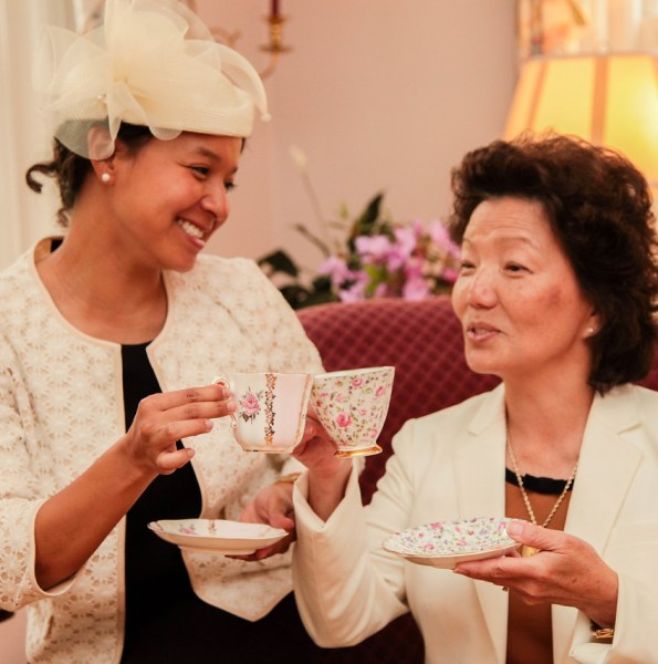 Serving Tea and Staying Southern,  Patricia Bradby  of Miss Priss Tea 2