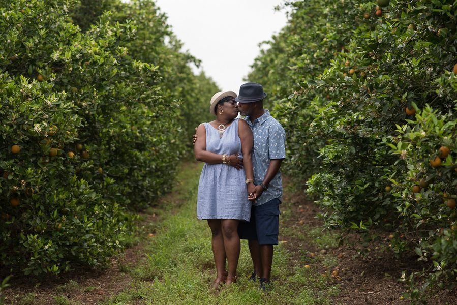 Beautiful Outdoor Florida Engagement Session 14