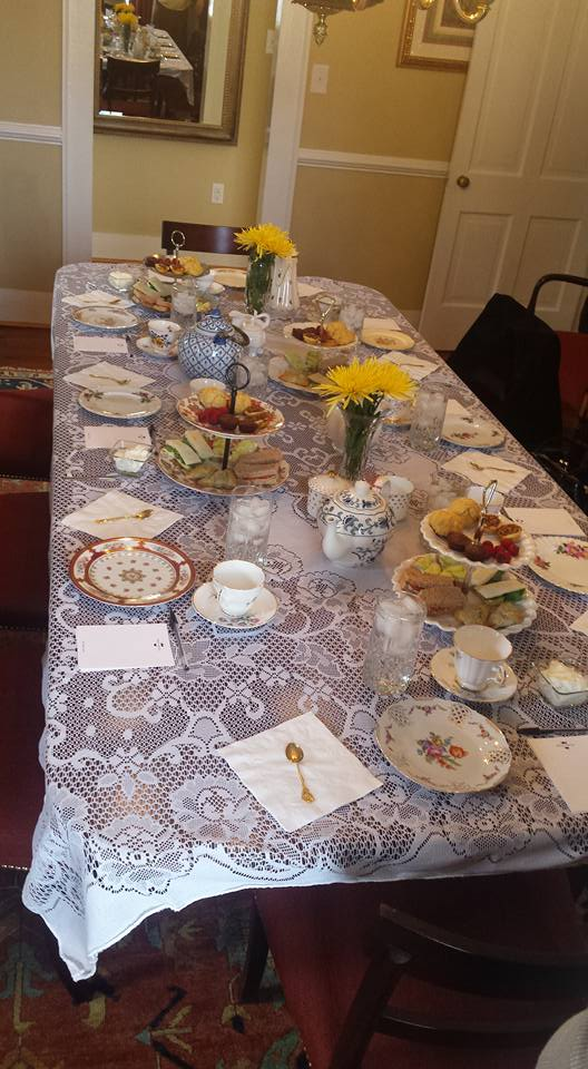 Moss-Side-Manor-Dining-Room Serving Tea and Staying Southern,  Patricia Bradby  of Miss Priss Tea