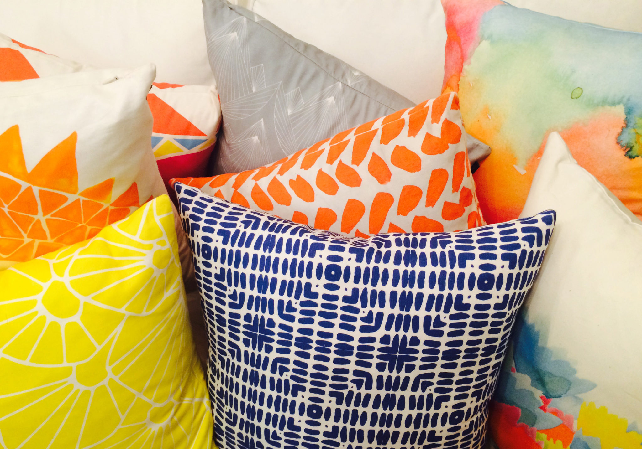 5 Throw Pillows to Gift Bridesmaids from Atlanta Based Rochelle Porter 2