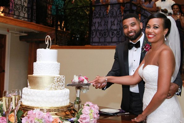 998-595x397 Southern Inspired, Greensboro, NC Wedding
