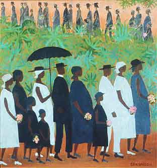 Ellis-Wilson-Funeral-Procession 10 Pieces of Art a Black Southern Belle Should Have in her Home