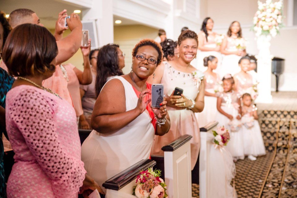 """IMG_2207-960x639 Virginia College Sweethearts Say """"I Do"""" with Blush and Rose Gold"""