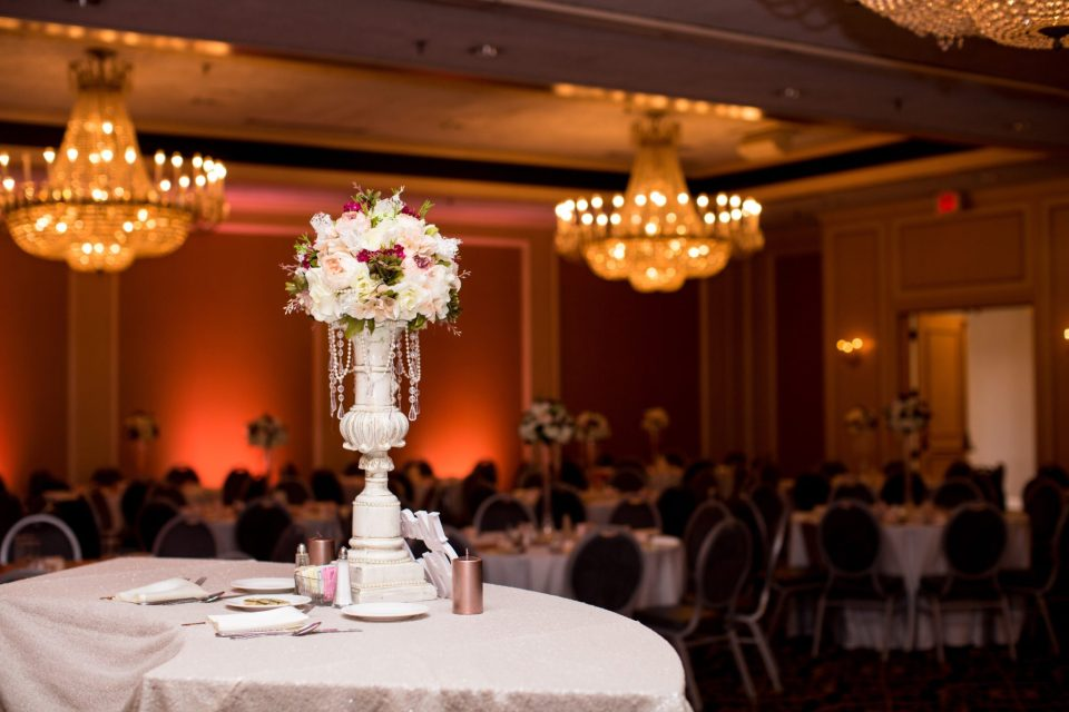 """IMG_2250-960x640 Virginia College Sweethearts Say """"I Do"""" with Blush and Rose Gold"""