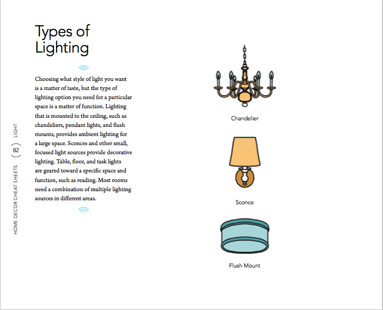 lighting 6 Home Decor Cheat Sheets for a Southern Homeowner