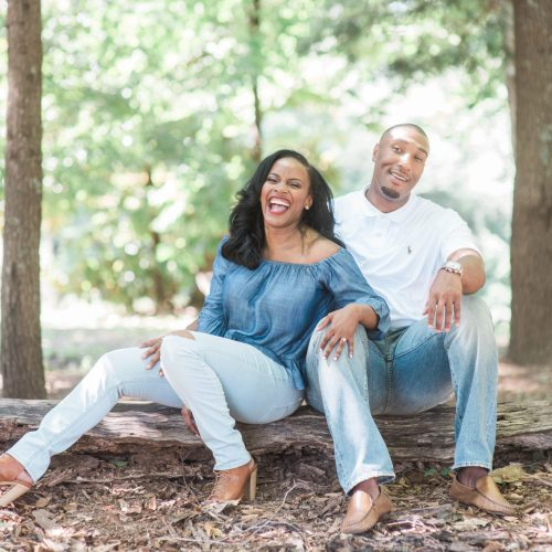 Hattiesburg, MS Engagement Outdoor Photo Session 4