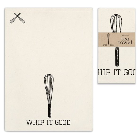 Whip-It-Good-Tea-Towel-595x595 5 Things a Southern Belle Must Have in Her Kitchen from Unlikely Martha