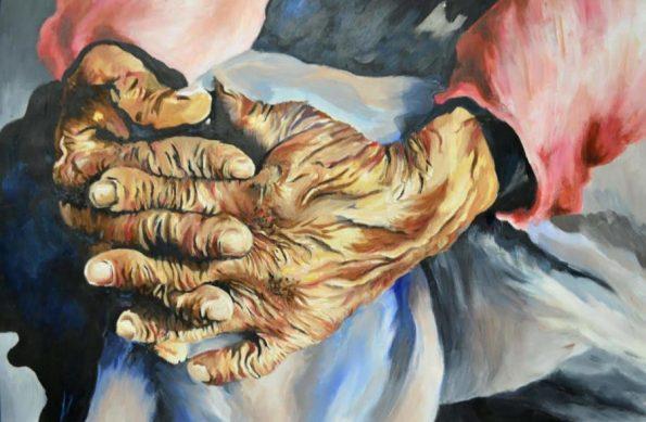 Grandmas-Hands-595x389 Story Behind a Southern, HBCU Visual Artist
