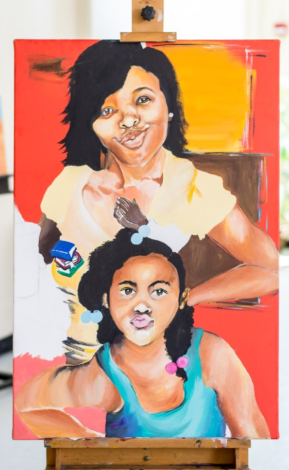 Like-Mother-Like-Daughter-595x965 Story Behind a Southern, HBCU Visual Artist