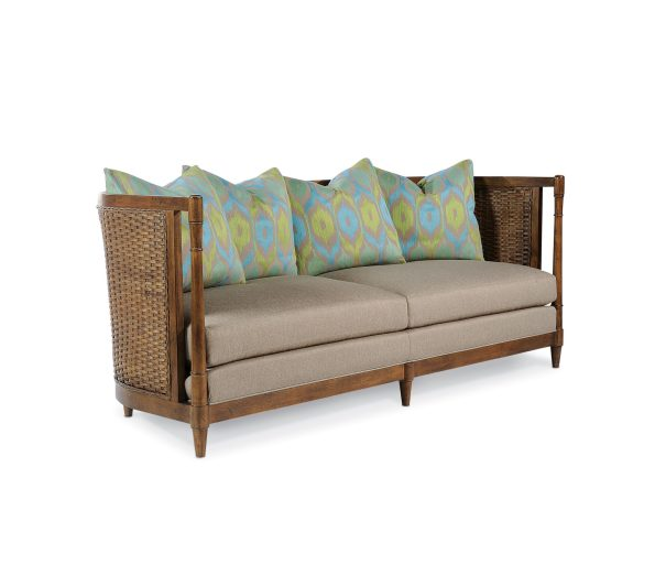 Taylor-King-Yates-Sofa-595x513 6 Wicker & Rattan Pieces from Taylor King That We Love