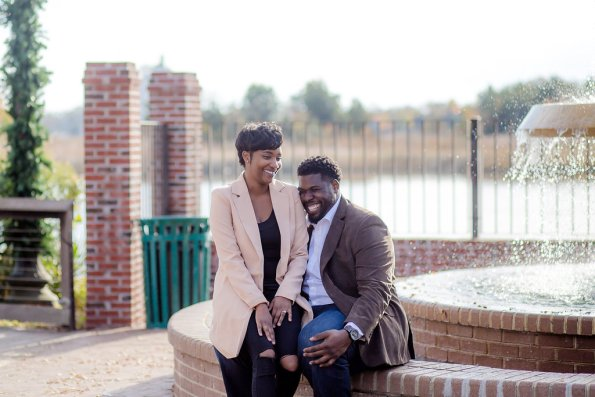 TaylorKwame-40-595x397 Georgetown, SC Engagement Session
