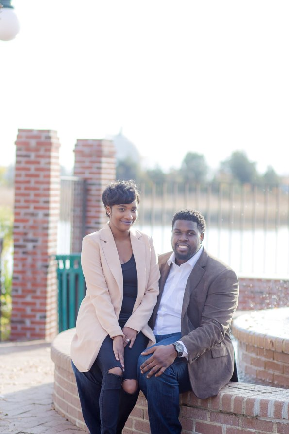 TaylorKwame-41-595x893 Georgetown, SC Engagement Session