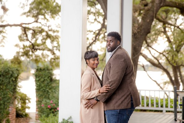 TaylorKwame-83-595x397 Georgetown, SC Engagement Session