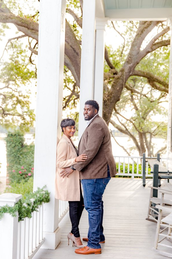 TaylorKwame-84-595x893 Georgetown, SC Engagement Session