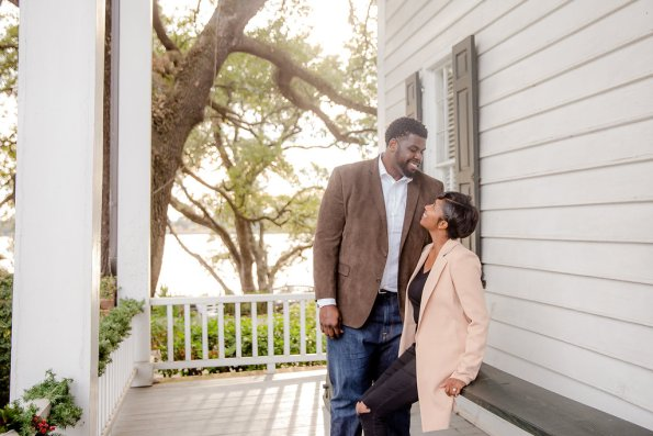 TaylorKwame-89-595x397 Georgetown, SC Engagement Session