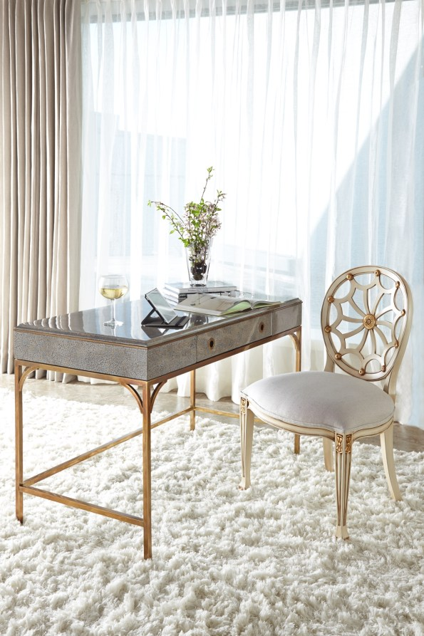 Alden-Parkes-Hampton-Desk-and-Spider-Side-Chair-595x893 6 Office Inspiration Looks for a Black Southern Belle