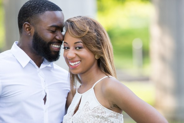 Amber-and-Adrian-Engagement-0003-595x397 Fisk University Love Engagement Session