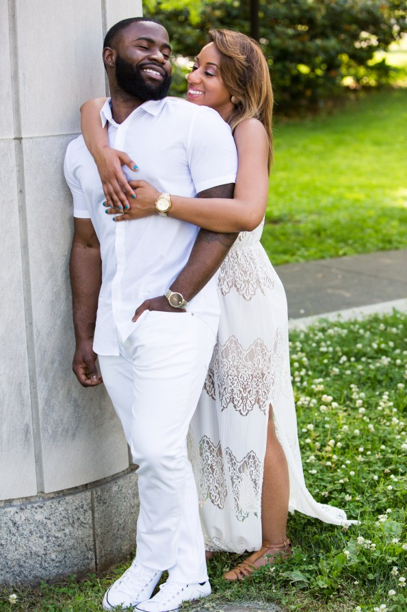 Amber-and-Adrian-Engagement-0012-595x893 Fisk University Love Engagement Session