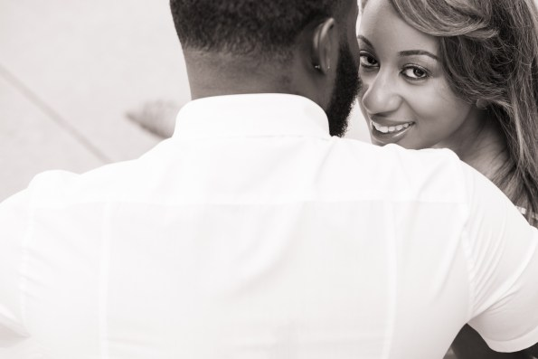 Amber-and-Adrian-Engagement-0014-595x397 Fisk University Love Engagement Session