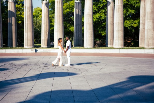 Amber-and-Adrian-Engagement-0019-595x397 Fisk University Love Engagement Session