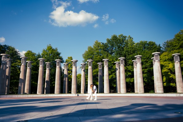 Amber-and-Adrian-Engagement-0020-595x397 Fisk University Love Engagement Session